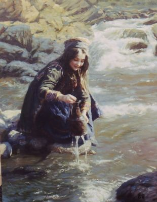 Select Sold Works: Ekaterina Morgun - At the Stream
