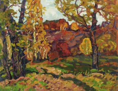 Sold Works: Evgeni Chuikov - Autumn