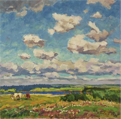 Sold Works: Evgeni Chuikov - Clouds