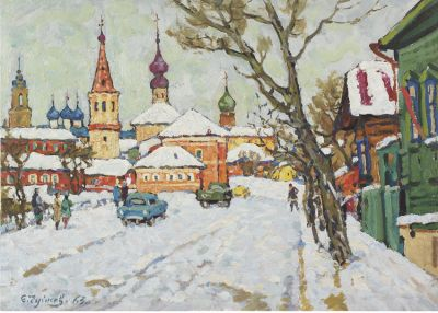 Sold Works: Evgeni Chuikov - Suzdal