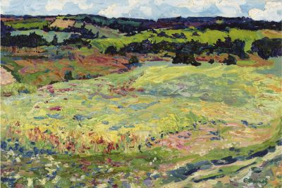 Sold Works: Evgeni Chuikov - In the Field