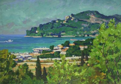 Sold Works: Evgeni Chuikov - Near Gurzuf