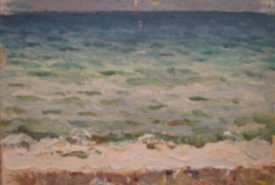 Sold Works: Vasili Gurin - Black Sea