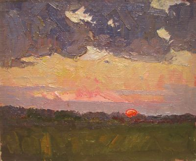 Sold Works: Vasili Gurin - Evening