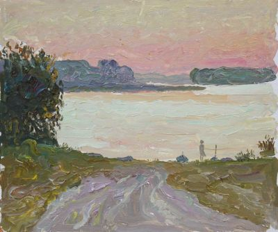 Sold Works: Vasili Gurin - Warm Morning