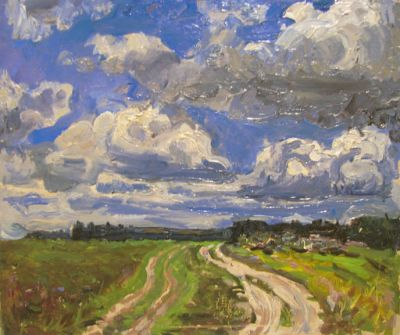 Sold Works: Vasili Gurin - Road