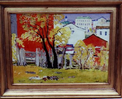 Sold Works: Gavriil Malysh - In the Outskirts of the City