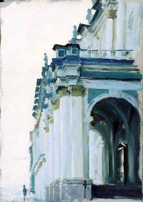 Select Sold Works: Ekaterina Morgun - Study of the Hermitage