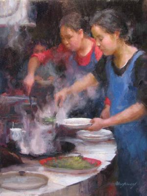 Select Sold Works: Marci Oleszkiewicz - Awaiting Dinner