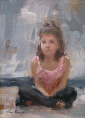 Select Sold Works: Marci Oleszkiewicz - Little Ballerina