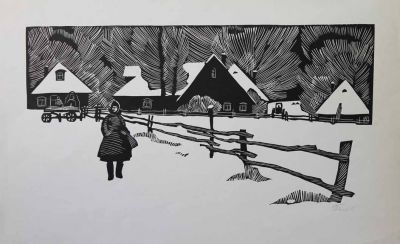 Works on Paper - Near the Outskirts
