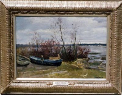 Sold Works: Aleksander Pushnin - Early Spring