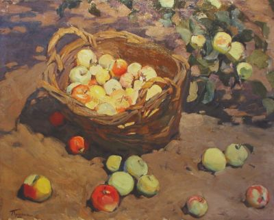 Sold Works: Aleksander Pushnin - Apples