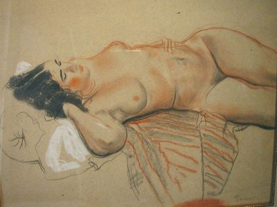 Sold Works: Erikh Rebane - Nude