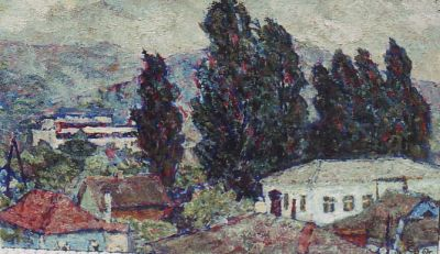Sold Works: Vladimir Skryabin - Northern Caucuses