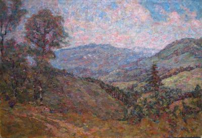 Sold Works: Vladimir Skryabin - Crimean Mountain
