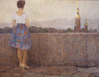 Sold Works: Vladimir Skryabin - St. Petersburg
