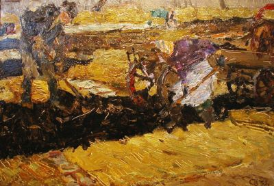 Sold Works: Vladimir Skryabin - Working Land