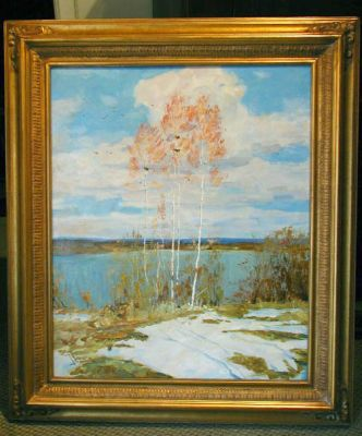 Sold Works: Boris Spornikov - Breath of Spring