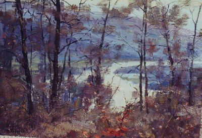 Sold Works: Boris Spornikov - Autumn Motif