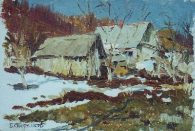 Sold Works: Boris Spornikov - Ukrainian House