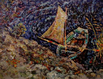 Sold Works: Vladimir Skryabin - Boat