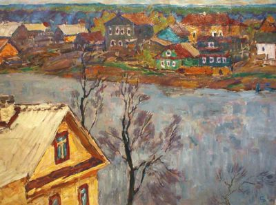 Sold Works: Vladimir Skryabin - On the Volhova