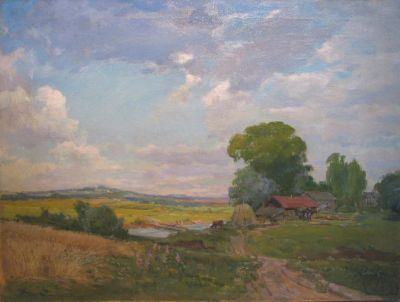 Sold Works: Nikolai Timkov - Summer Landscape