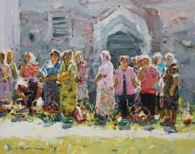 Select Sold Works: Ivan Vityuk - Holiday Ceremony
