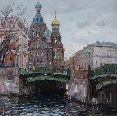 Select Sold Works: Ivan Vityuk - October has Come
