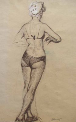 Works on Paper - Bather