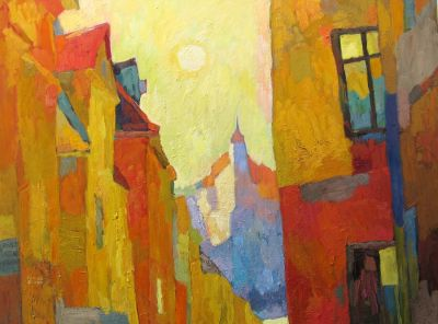 Larisa Aukon - Yellow