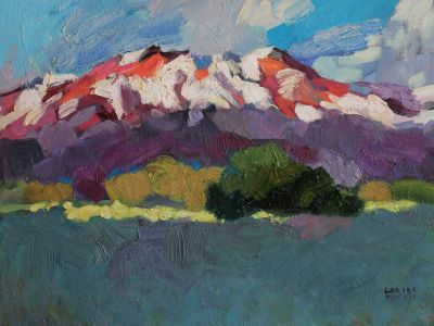 Larisa Aukon - Snow on the High