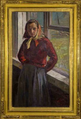 Fiodor Baranovsky - Girl by the Window