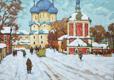 Evgeni Chuikov - Winter in Suzdal, 1960