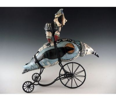 Select Sold Works: Gumaelius - Wrapped Tricycle Bird
