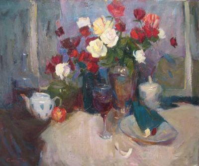 Sergei Kovalenko - Wine and Roses