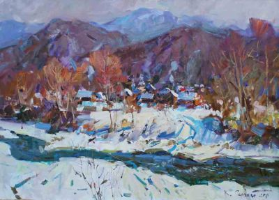 Sergei Kovalenko - Winter in Carpathia