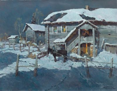 Select Sold Works: Alexander Kremer - Old House