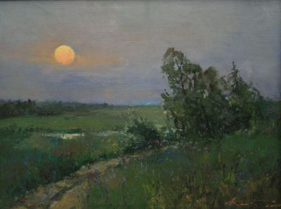 Select Sold Works: Alexander Kremer - Evening