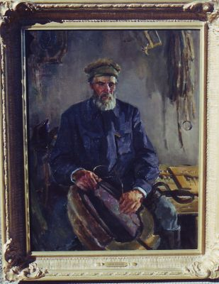 Sold Works: Viktor Letyanin - In the Stable
