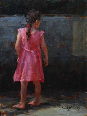 Select Sold Works: Marci Oleszkiewicz - Little Girl