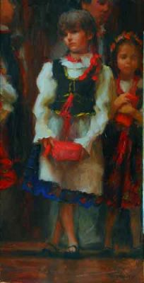 Select Sold Works: Marci Oleszkiewicz - Polish Girl