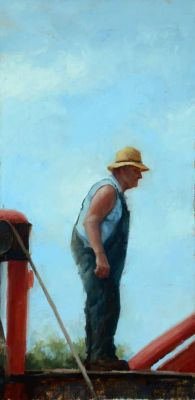 Select Sold Works: Marci Oleszkiewicz - Working Man