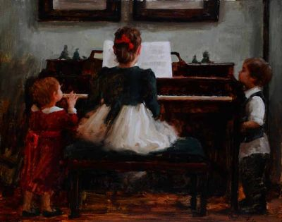 Select Sold Works: Marci Oleszkiewicz - Captive Audience
