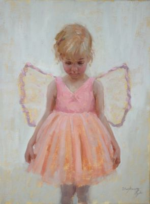 Select Sold Works: Marci Oleszkiewicz - Little Angel