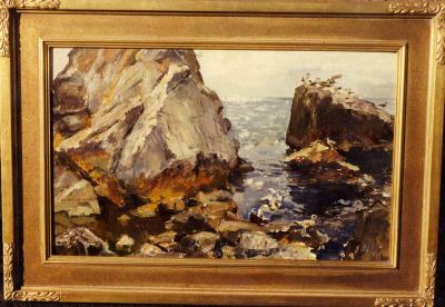 Sold Works: Erikh Rebane - Seascape