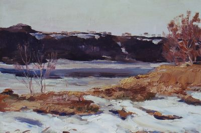 Sold Works: Erikh Rebane - Old Ladoga