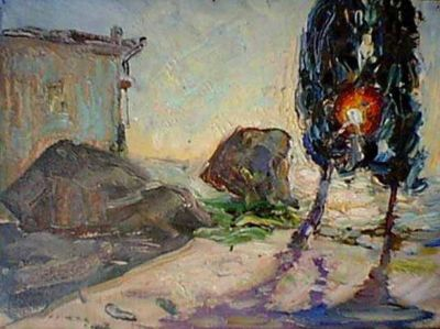 Sold Works: Erikh Rebane - Alupka, Crimea