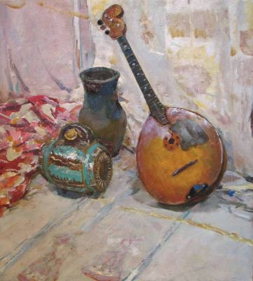 Sold Works: Erikh Rebane - Estonian Still Life